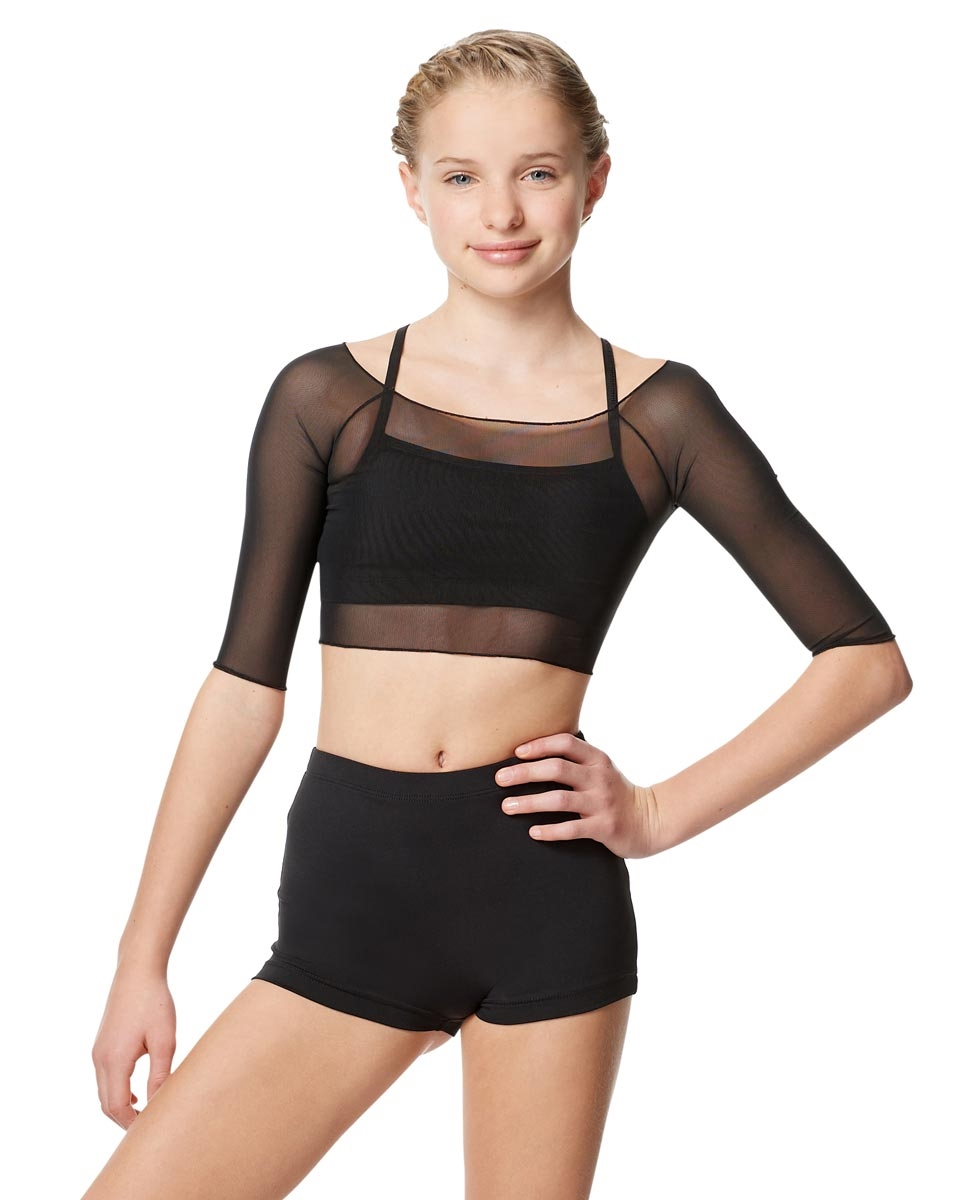Women Mesh Cropped Dance Top Isla