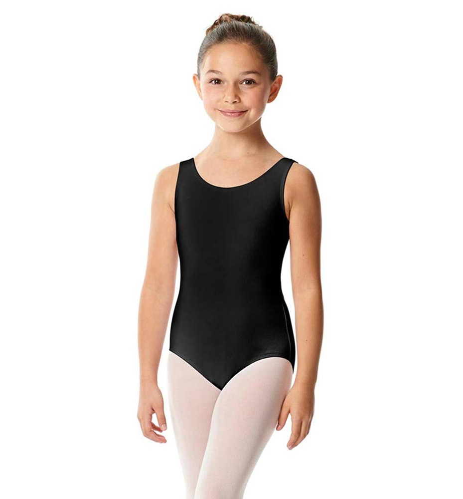 Girls Tank Cotton Ballet Leotard Barbara