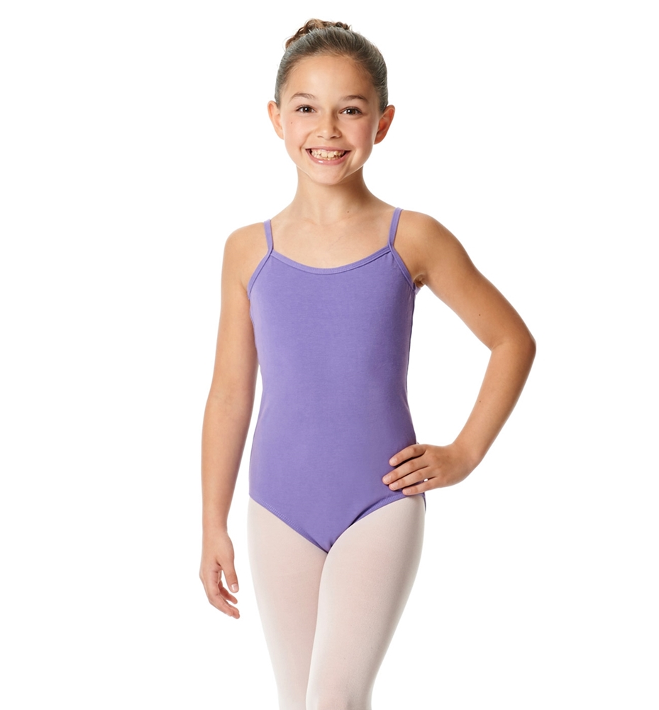 Girls Camisole Cotton Ballet Leotard Lily