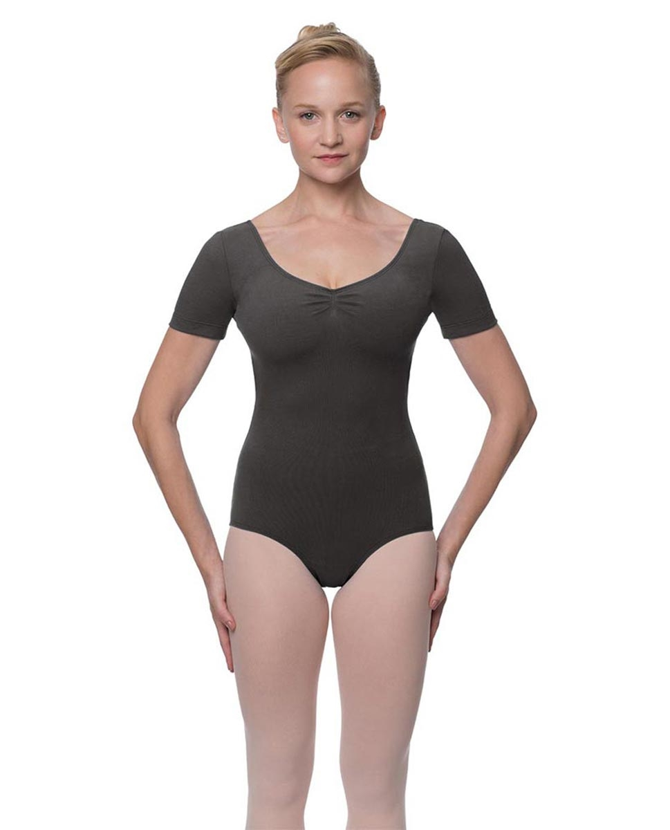 DARK GREY LULLI BASIC LEOTARD