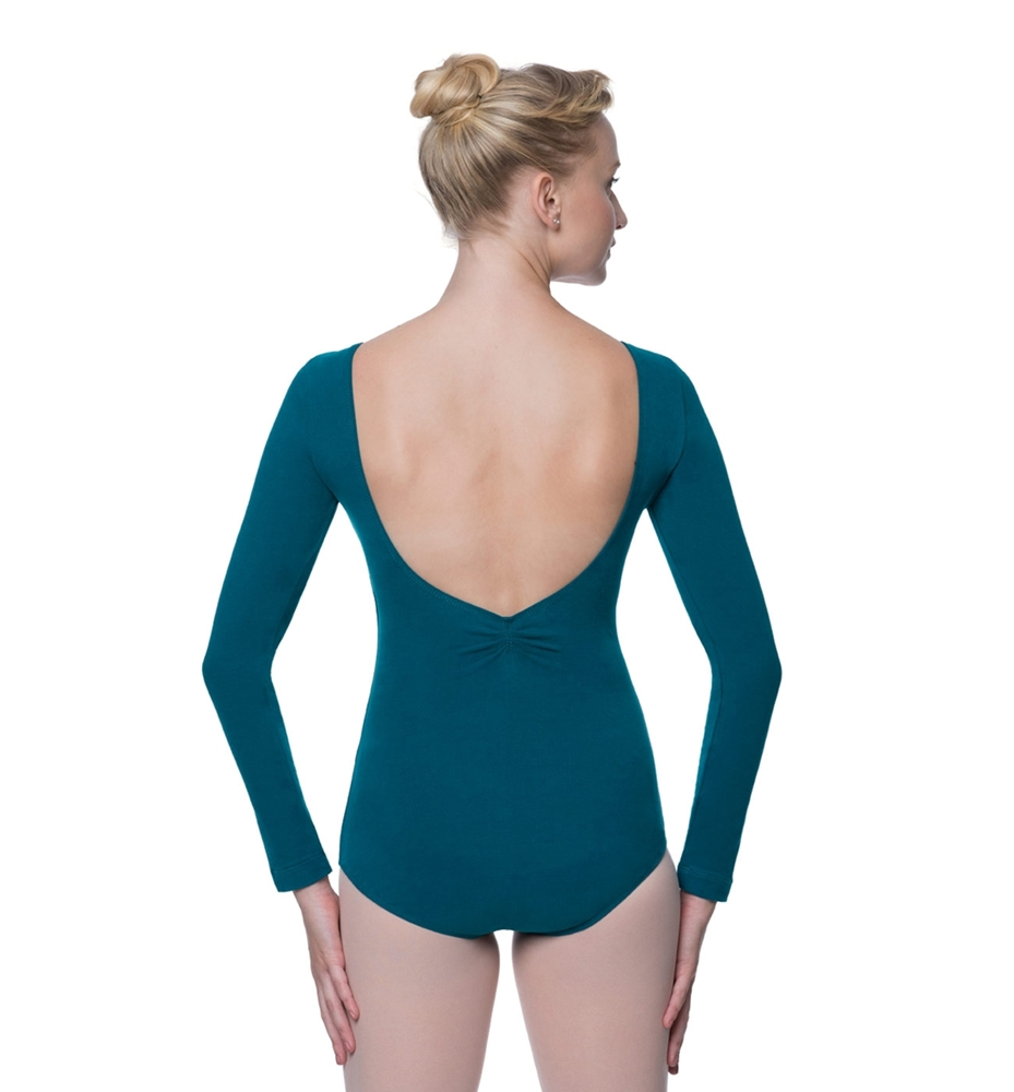 Long Cotton Dance Leotard Miranda