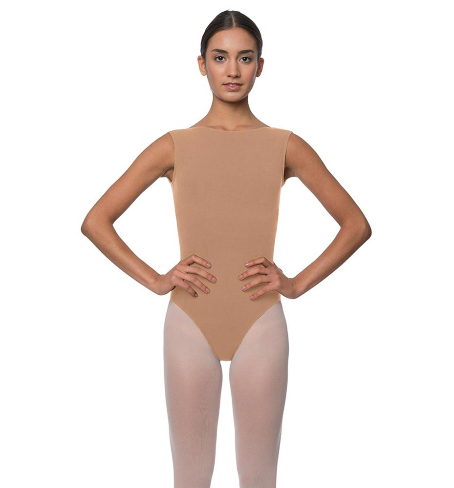 6c958ac6342e High Neck Cotton Dance Leotard Sabina