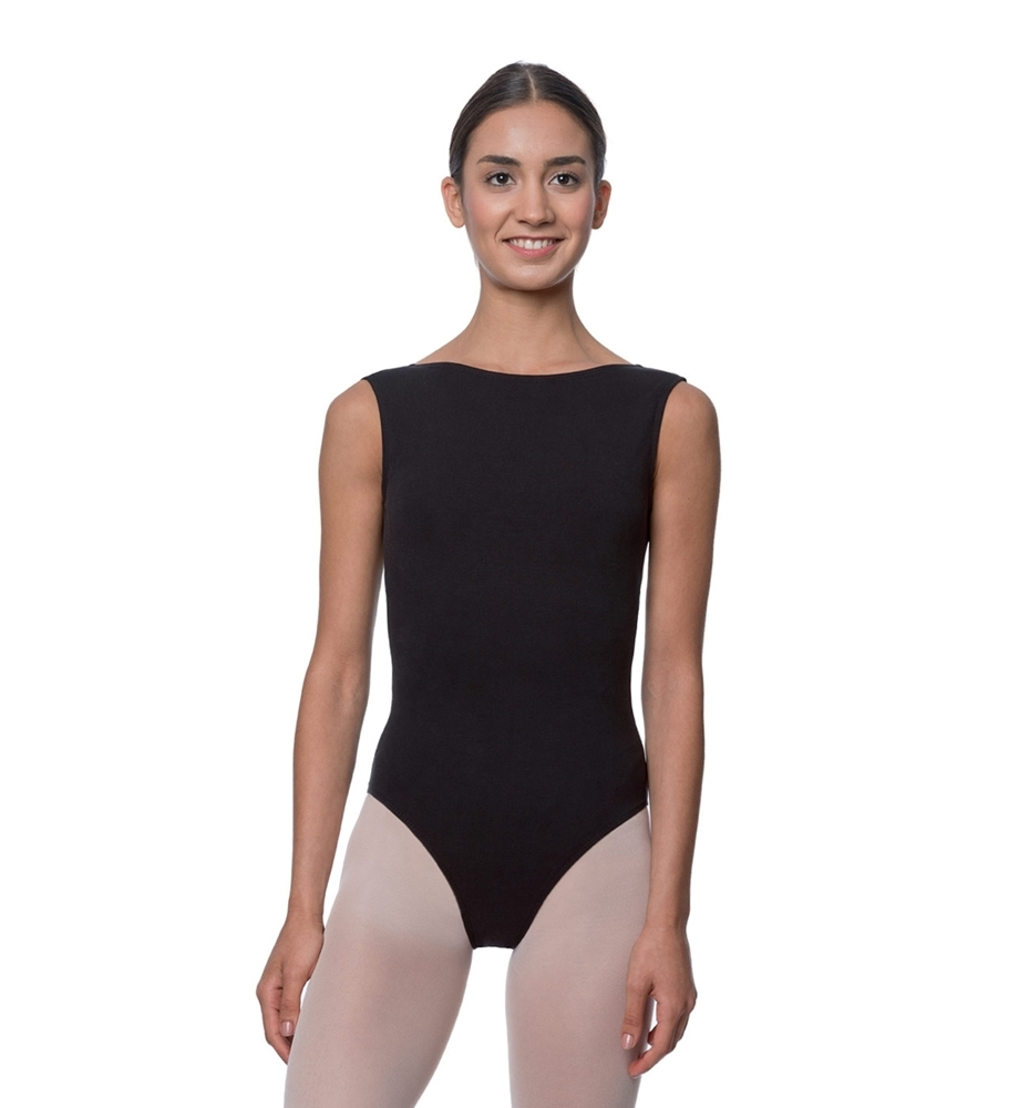ea3e65bcf870 High Neck Cotton Dance Leotard Sabina