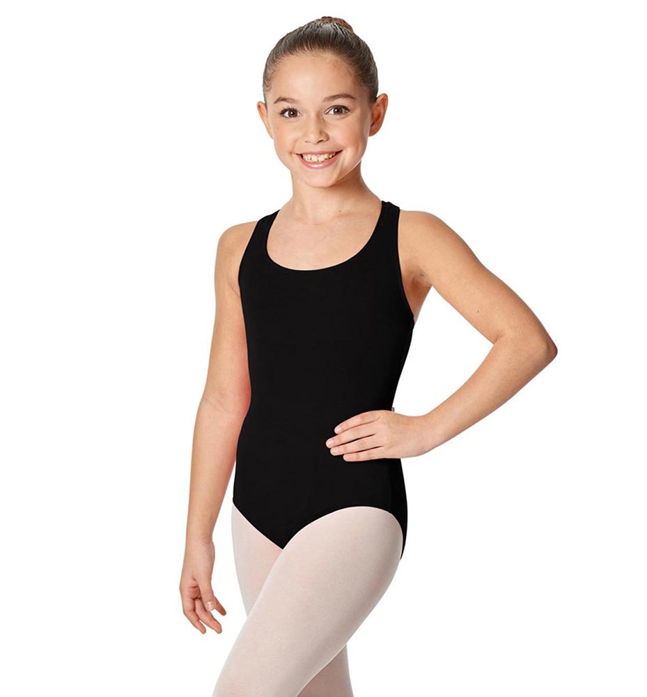 BLACK LULLI BASIC LEOTARD