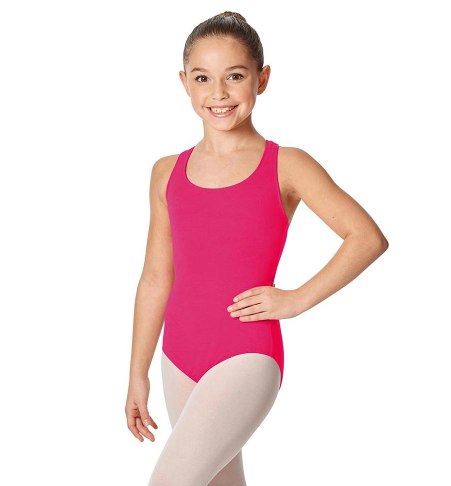 FUCHSIA LULLI BASIC LEOTARD
