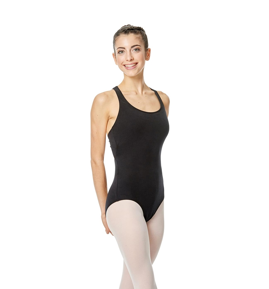 Brushed Cotton Tank Dance Leotard Ember