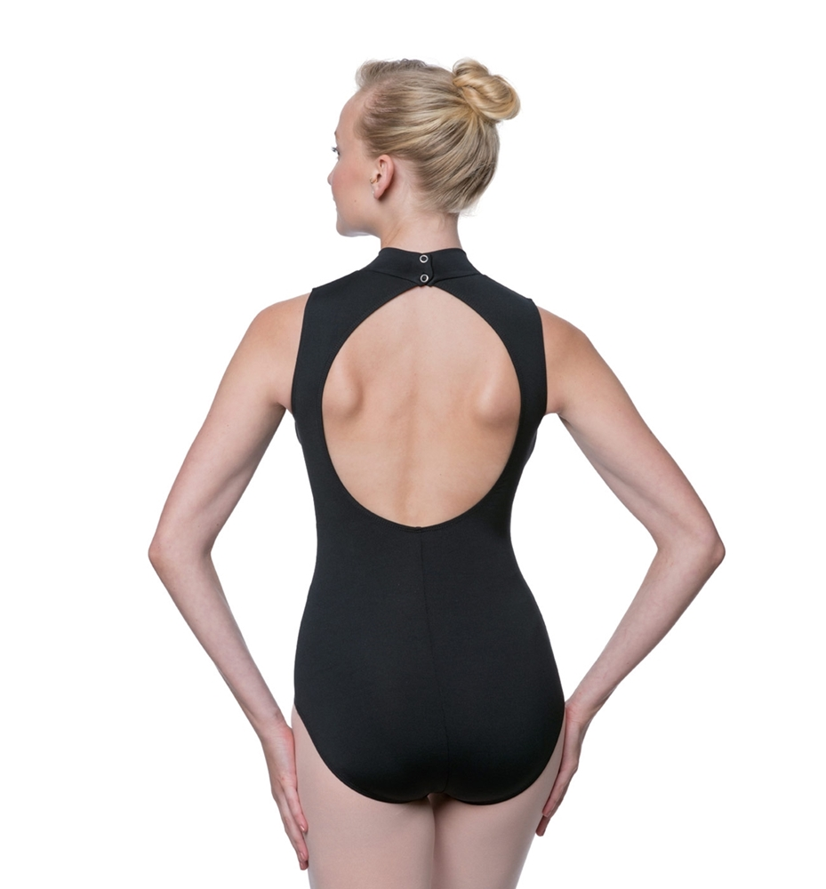 Mock Turtleneck Microfiber Dance Leotard Penelope