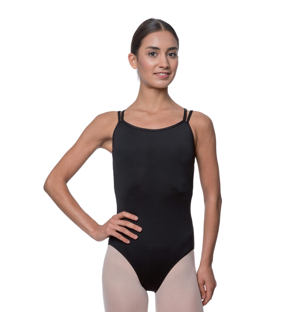 Double Strapped Camisole Microfiber Dance Leotard Nina