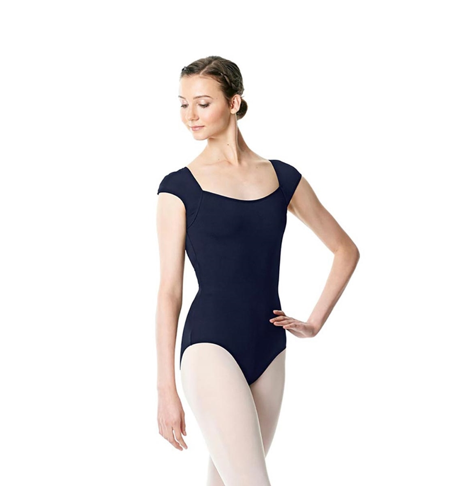 NAVY LULLI BASIC LEOTARD