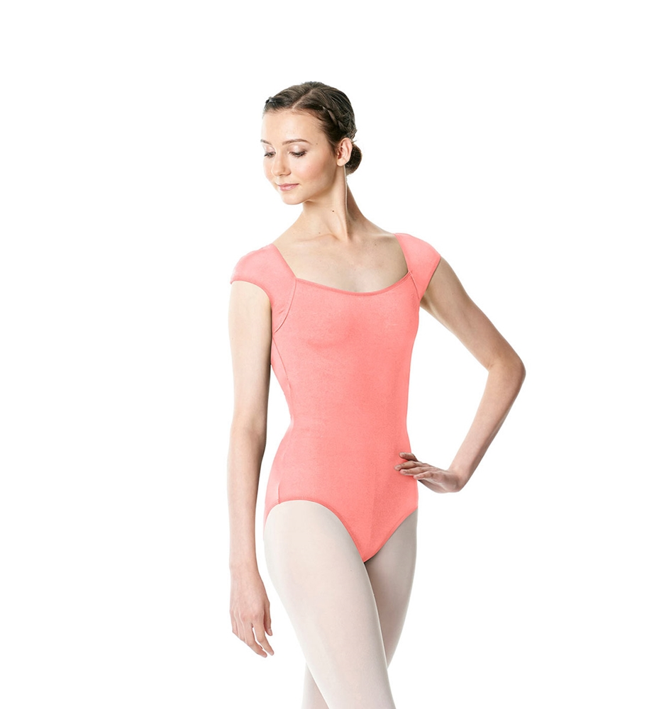 PEACH LULLI BASIC LEOTARD