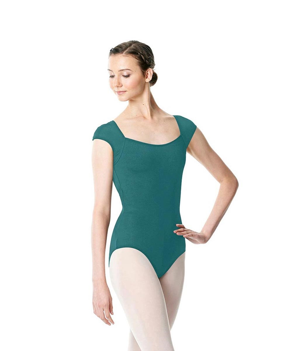 TEAL LULLI BASIC LEOTARD