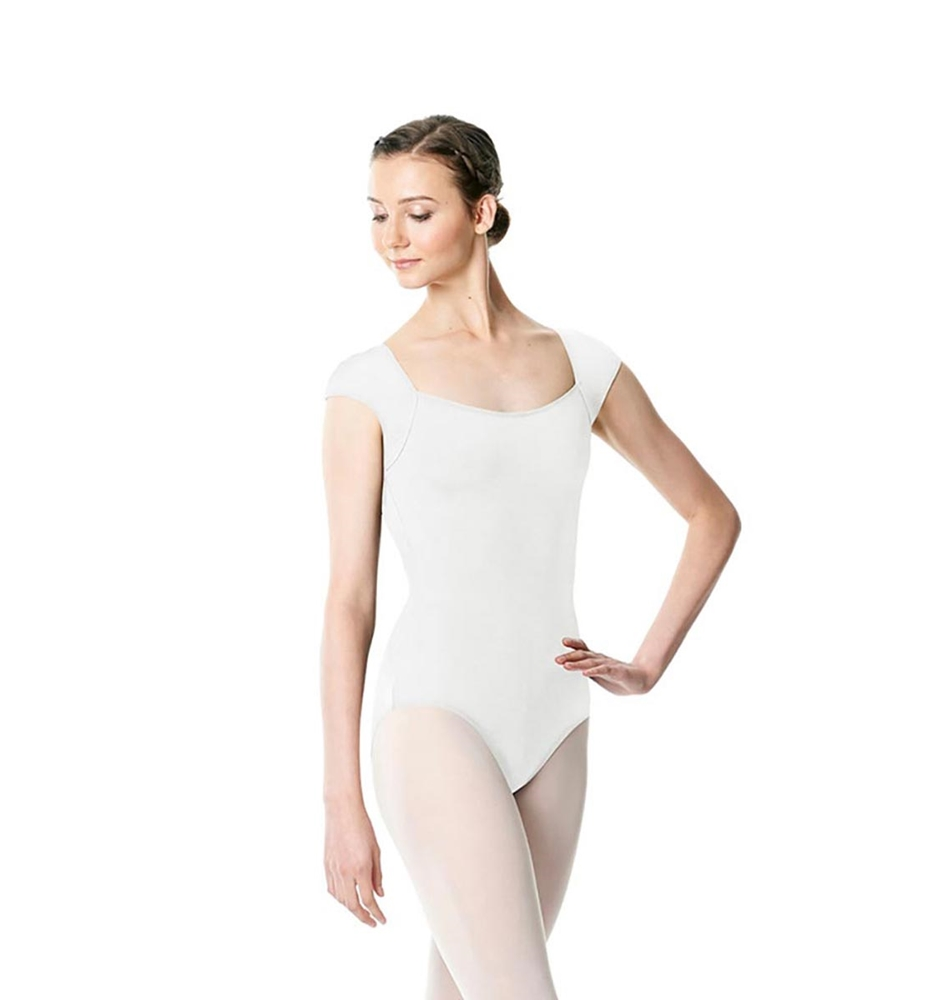 WHITE LULLI BASIC LEOTARD