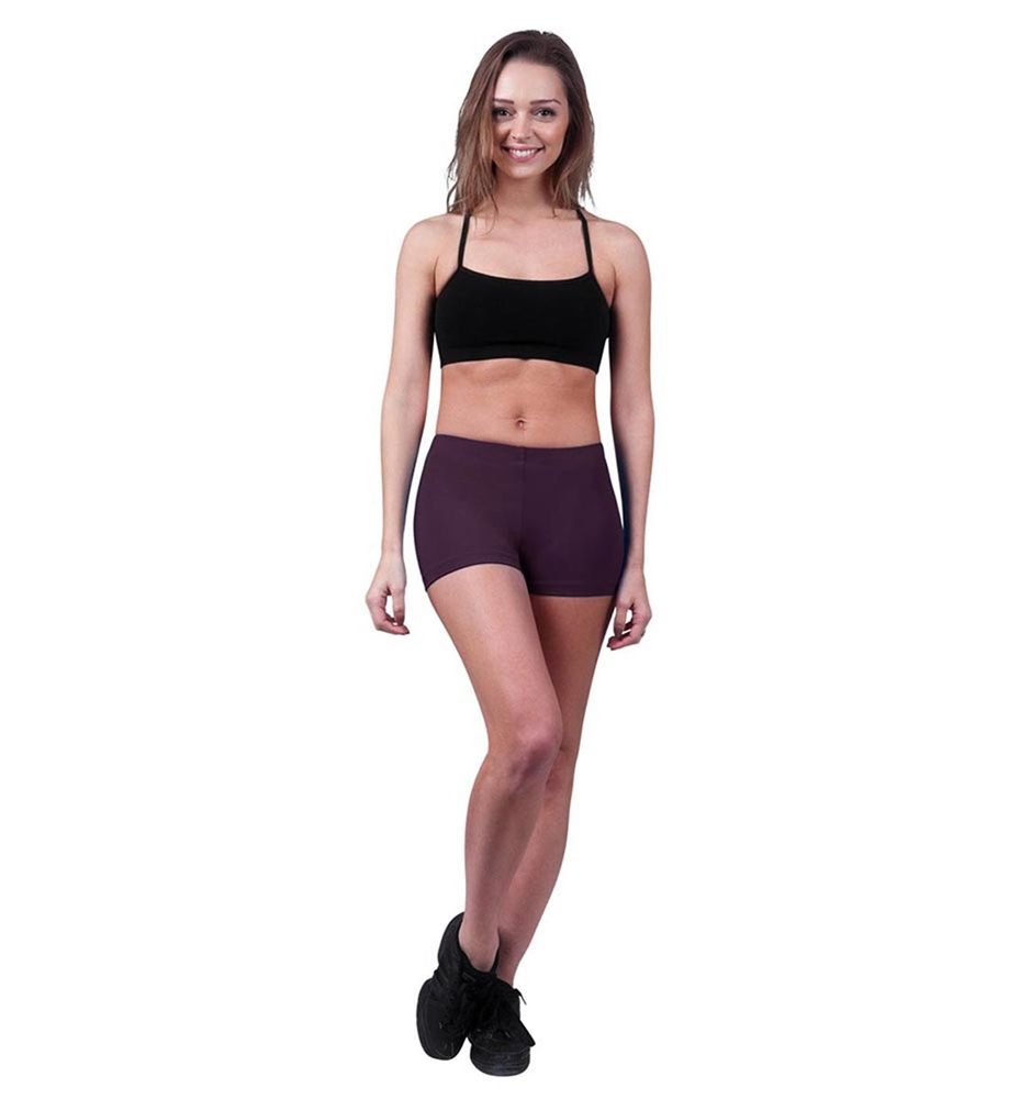 AUBERGINE LULLI BASIC LEOTARD