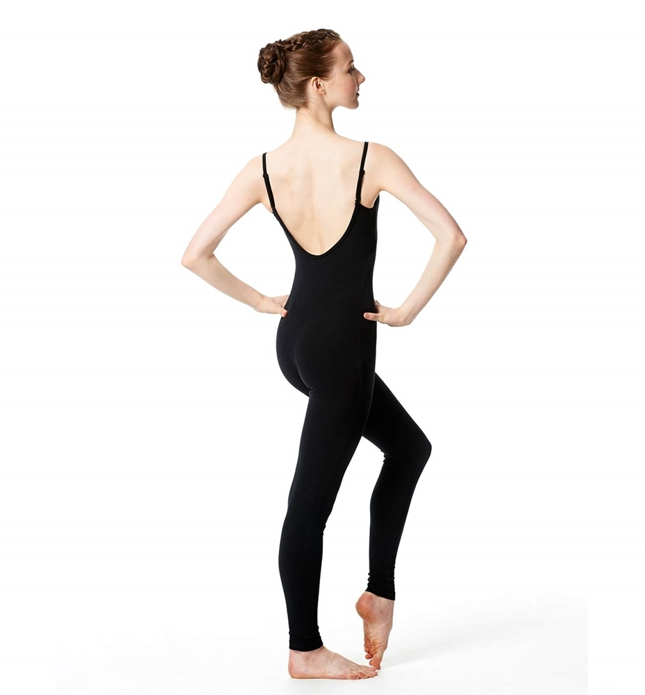 acd5aa7d4 Brushed Cotton Low Back Long Dance Unitard Madelyn
