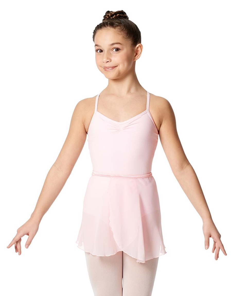 Girls Chiffon Short Ballet Skirt Hailey