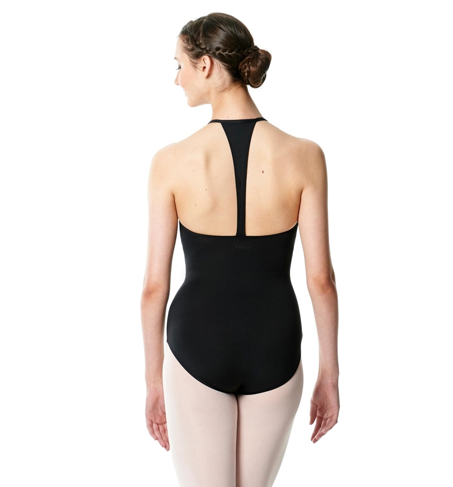 Hatler Neck Zipper Leotard Sarah
