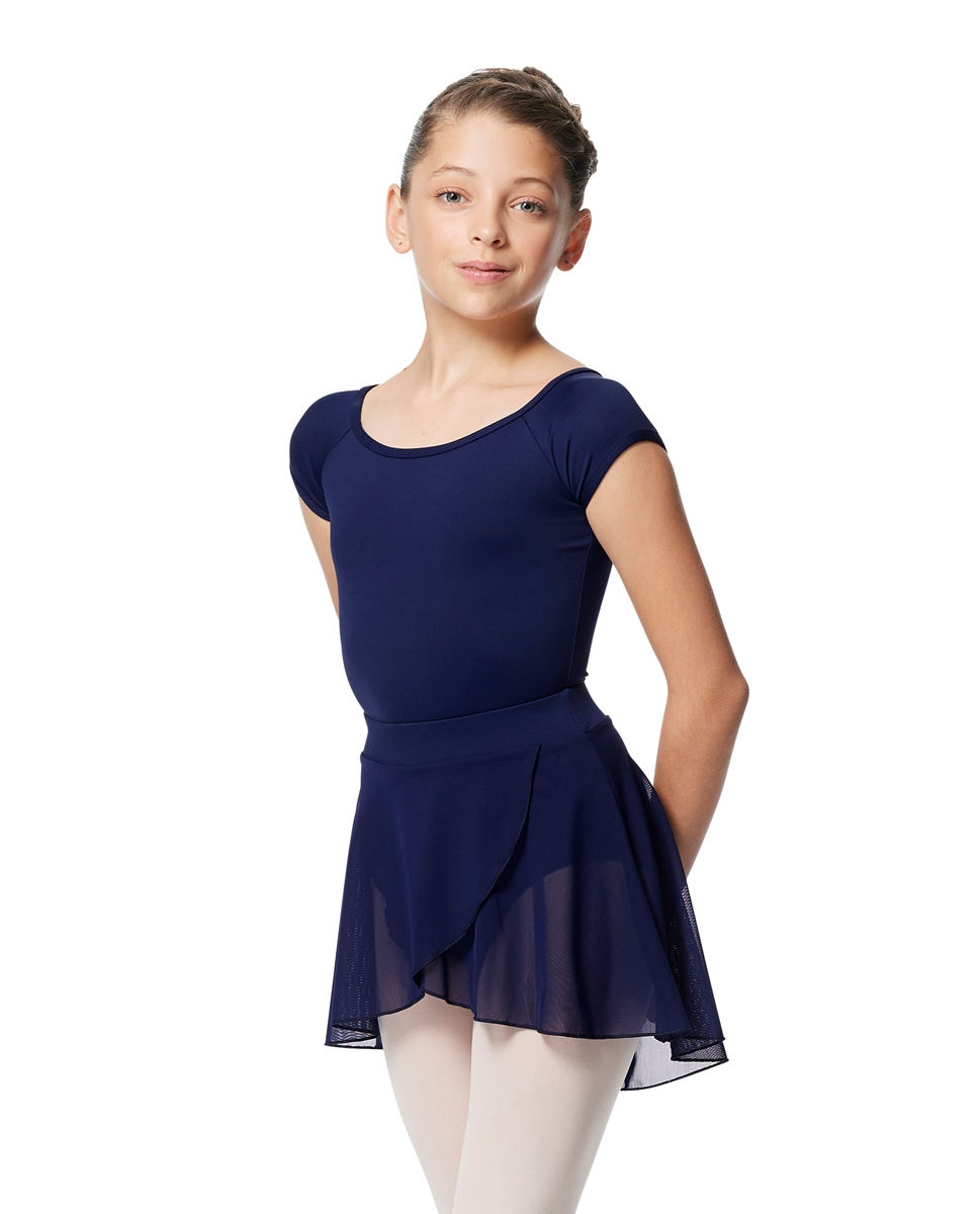 Girls Pull on Wrap Dance Skirt Natasha