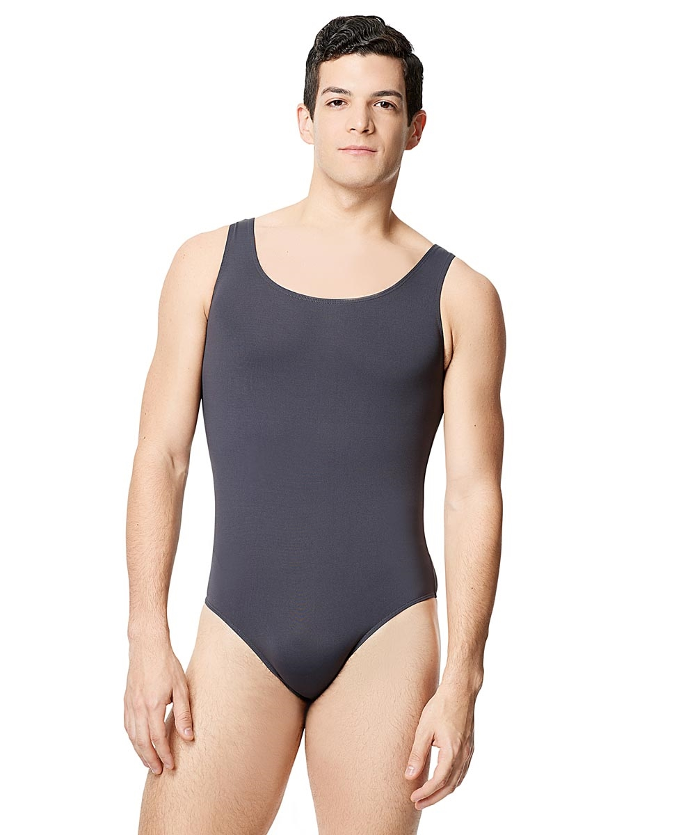 Mens Microfiber Tank Leotard Tayelor