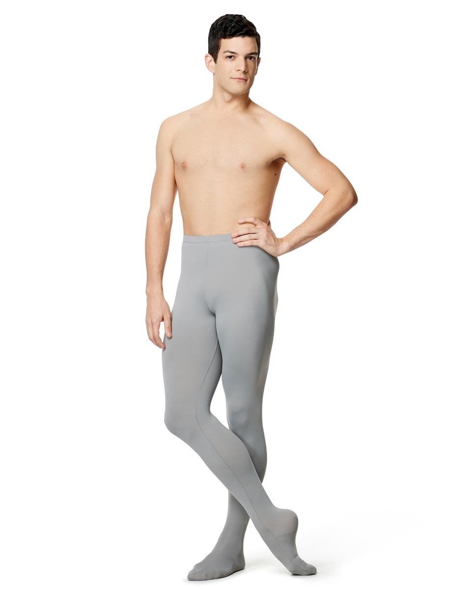 Mens Microfiber Dance Footed Leggings Raphael