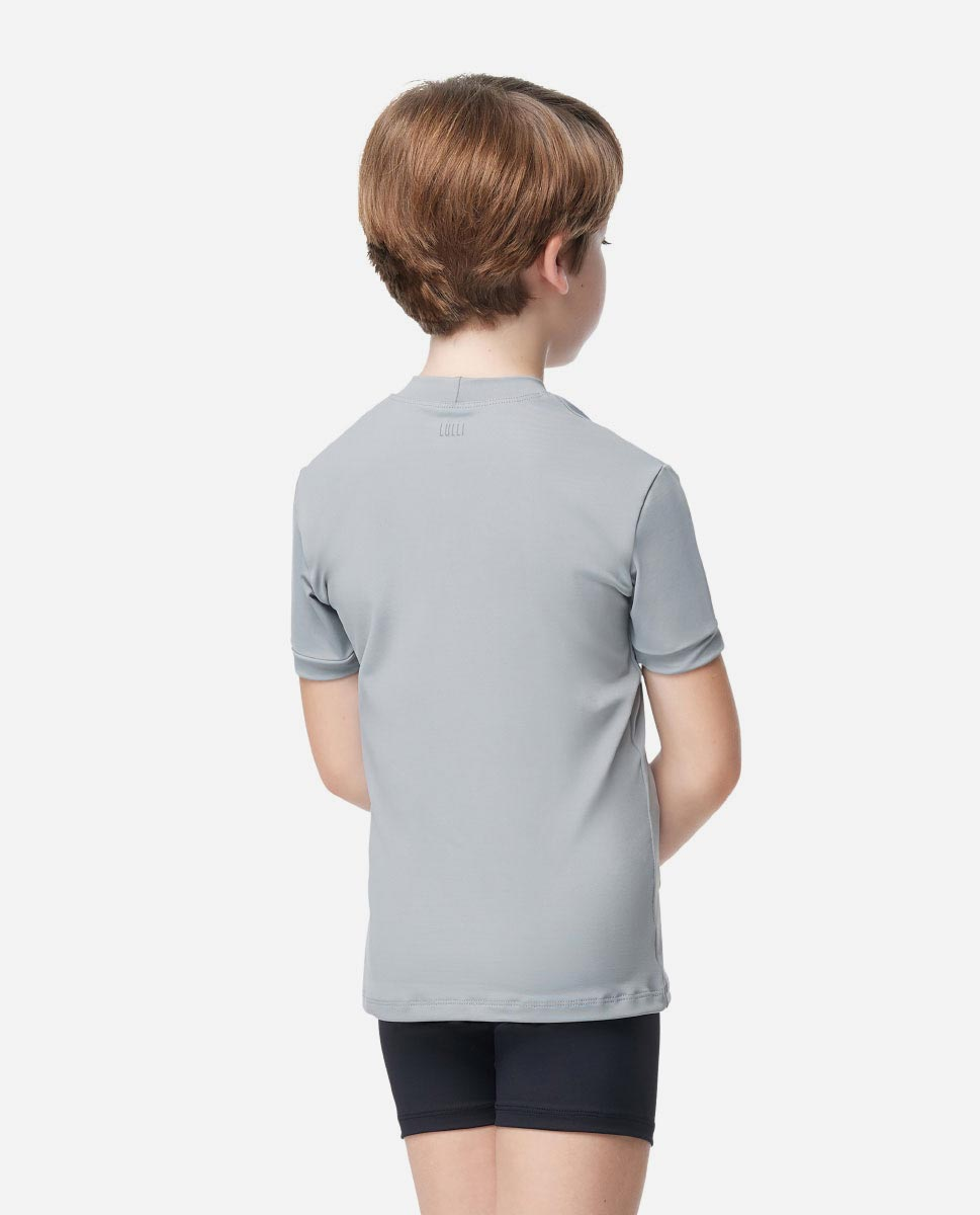 Boys Tactel Short Sleeve Dance Top Ferdinand