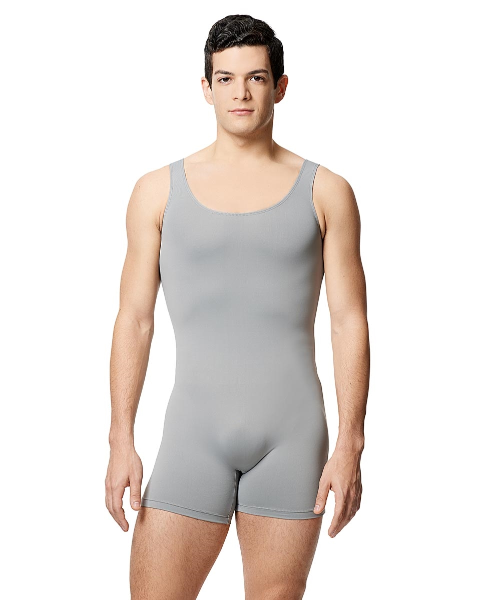 Mens Microfiber Tank Shorty Unitard Balzac