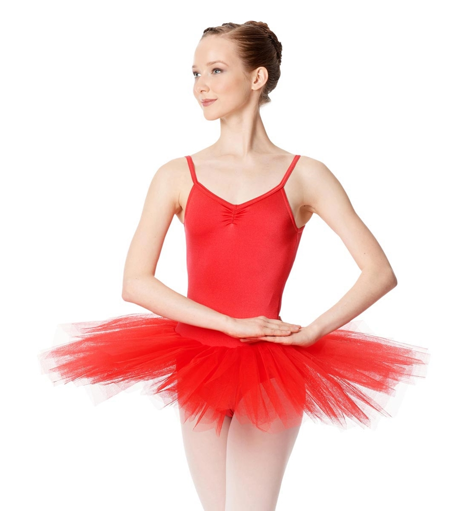 RED LULLI BASIC LEOTARD