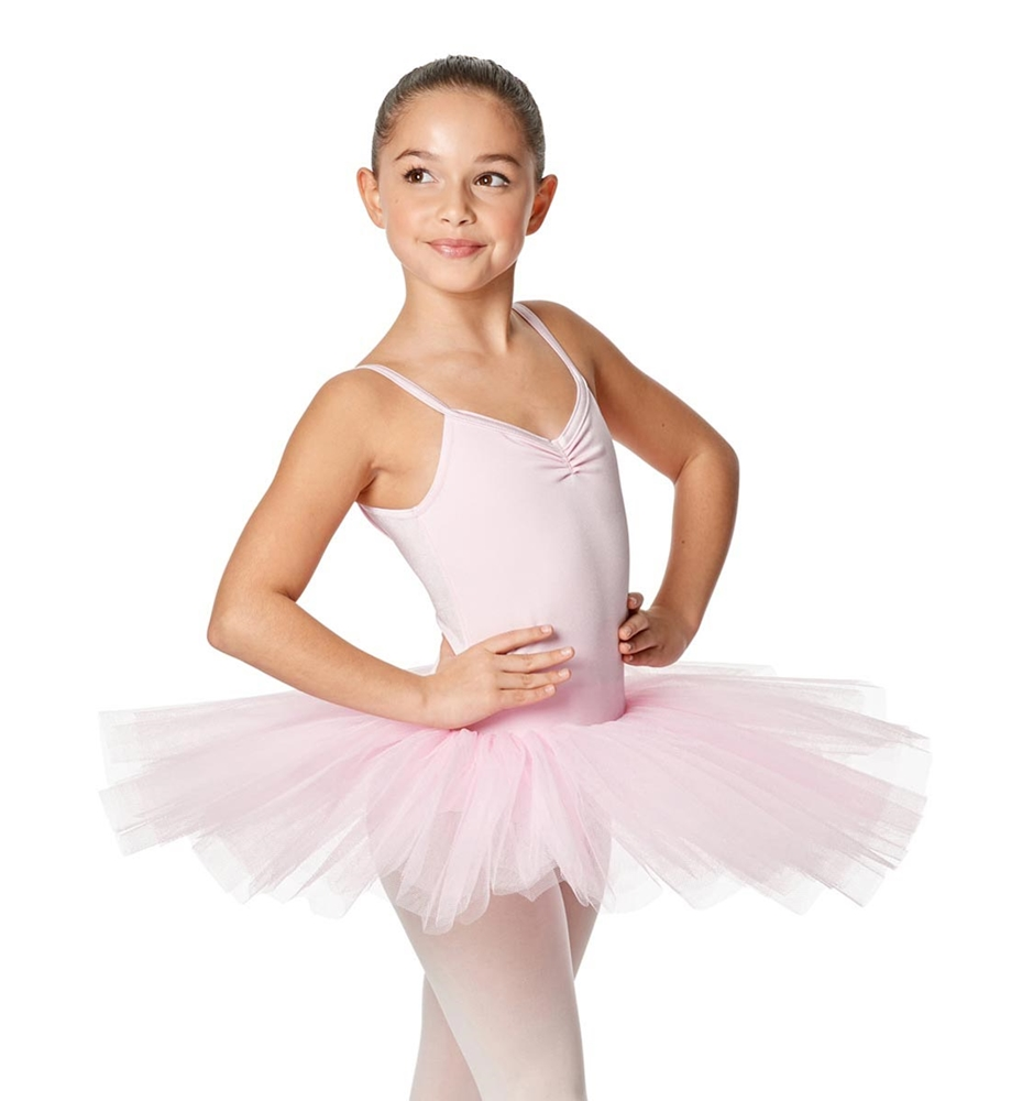 Girls Camisole Tutu 4-layered tulle Dress Everly