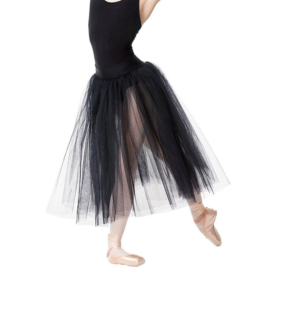 romantic tulle ballet skirt