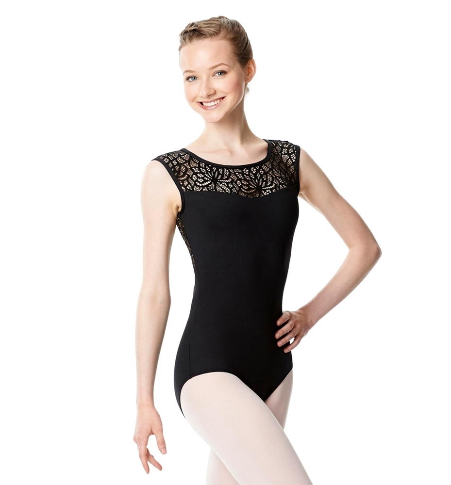 Cap Sleeve Performance Leotard Gillian