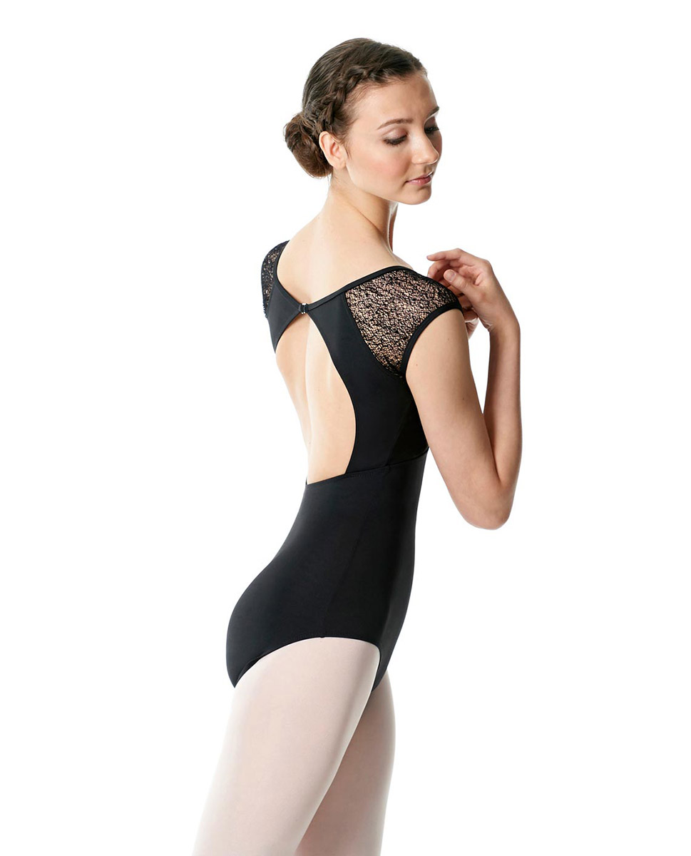 Cap Sleeve Leotard Anouk black