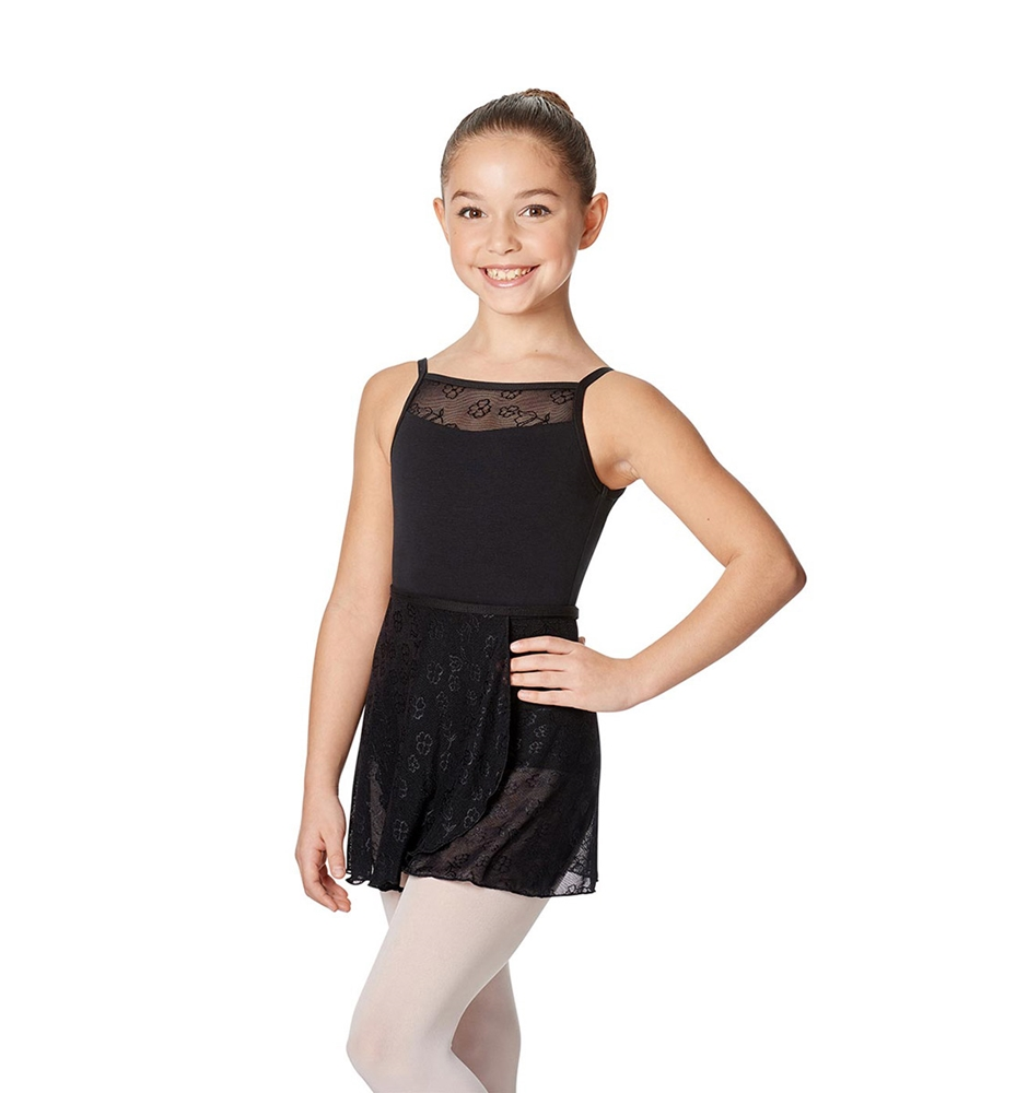 Wrap ballet skirt Anya black
