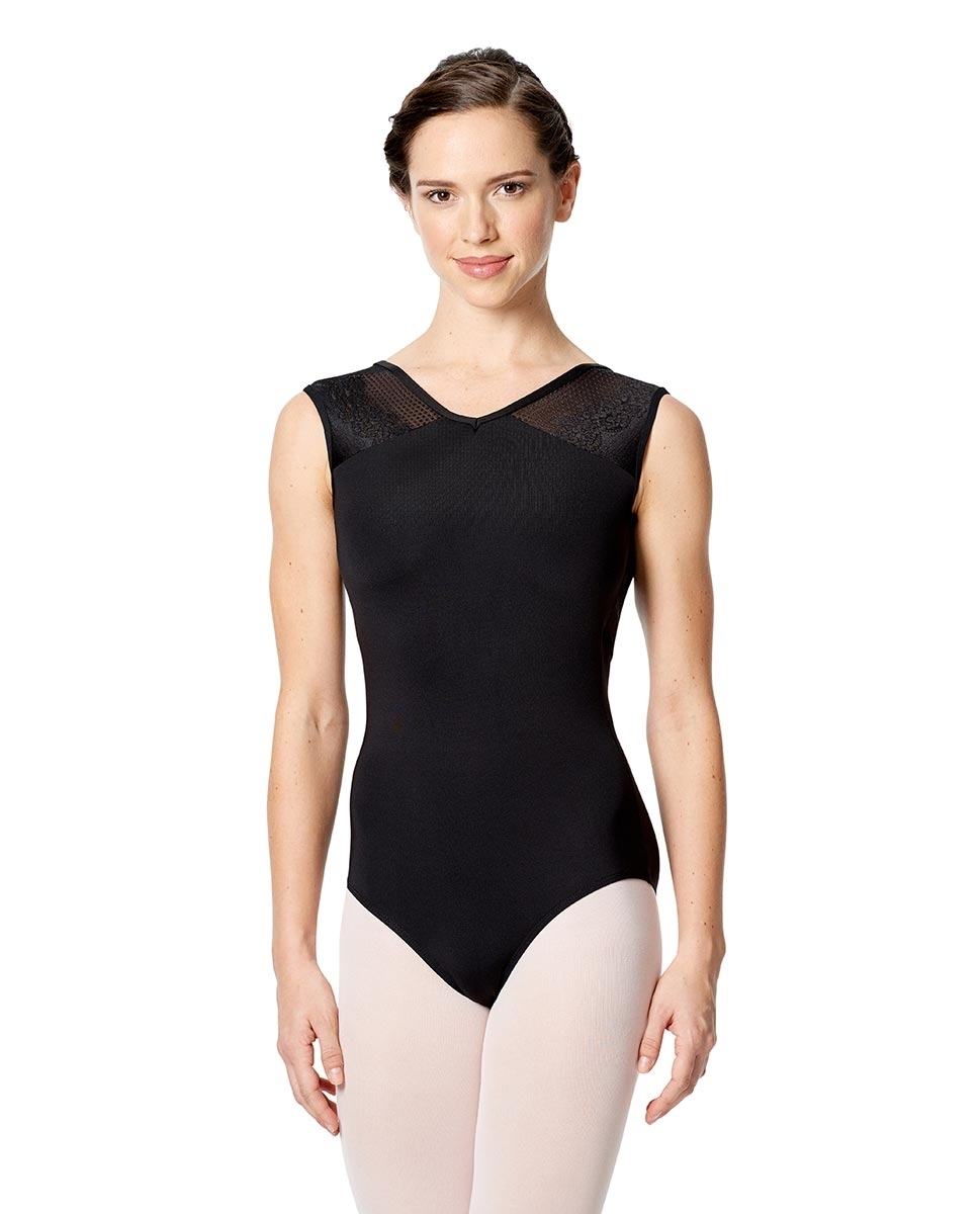 Open Back Tank Leotard Cassandra