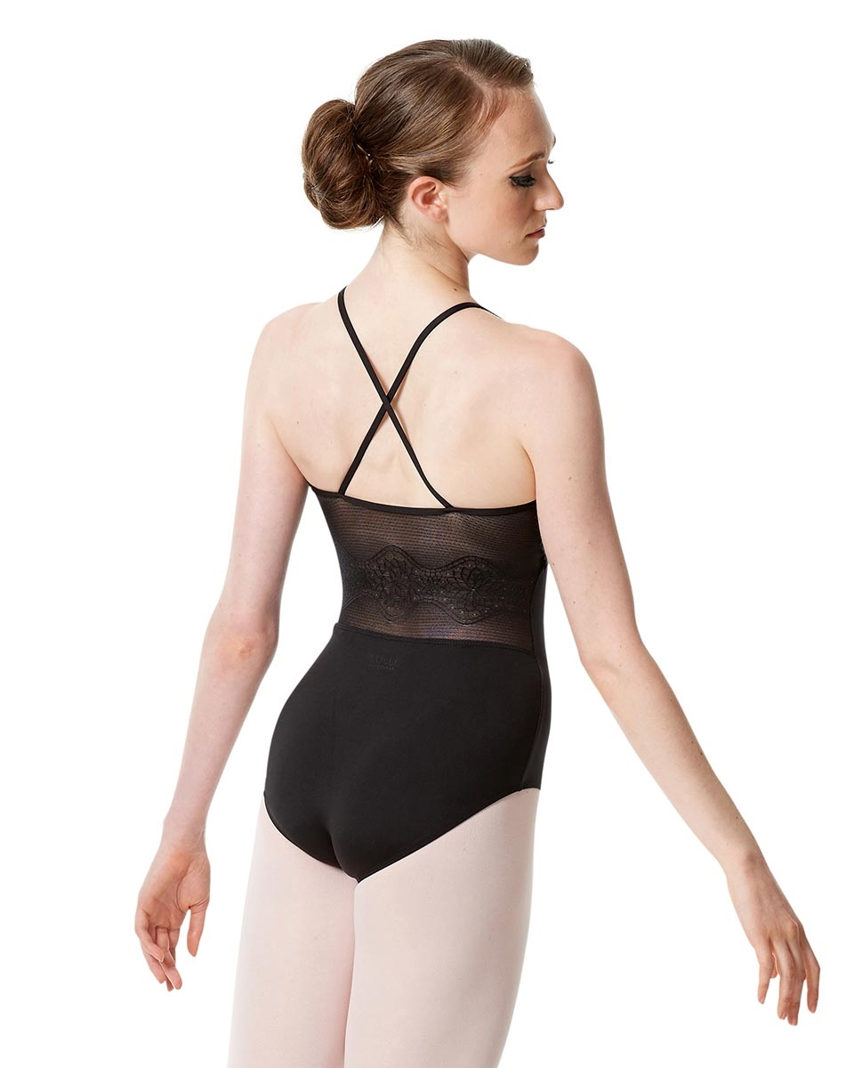 Camisole Leotard Magdalena with X-Back Straps