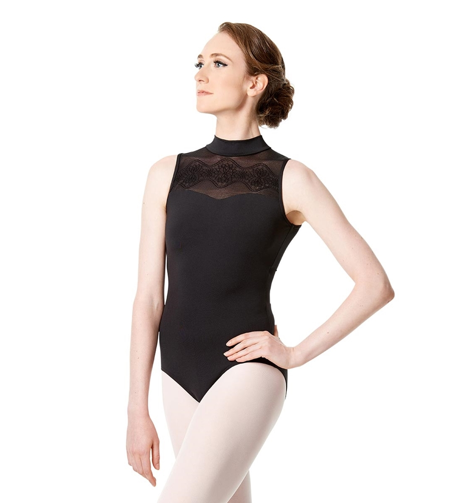 Mock Neck Tank Leotard Marissa