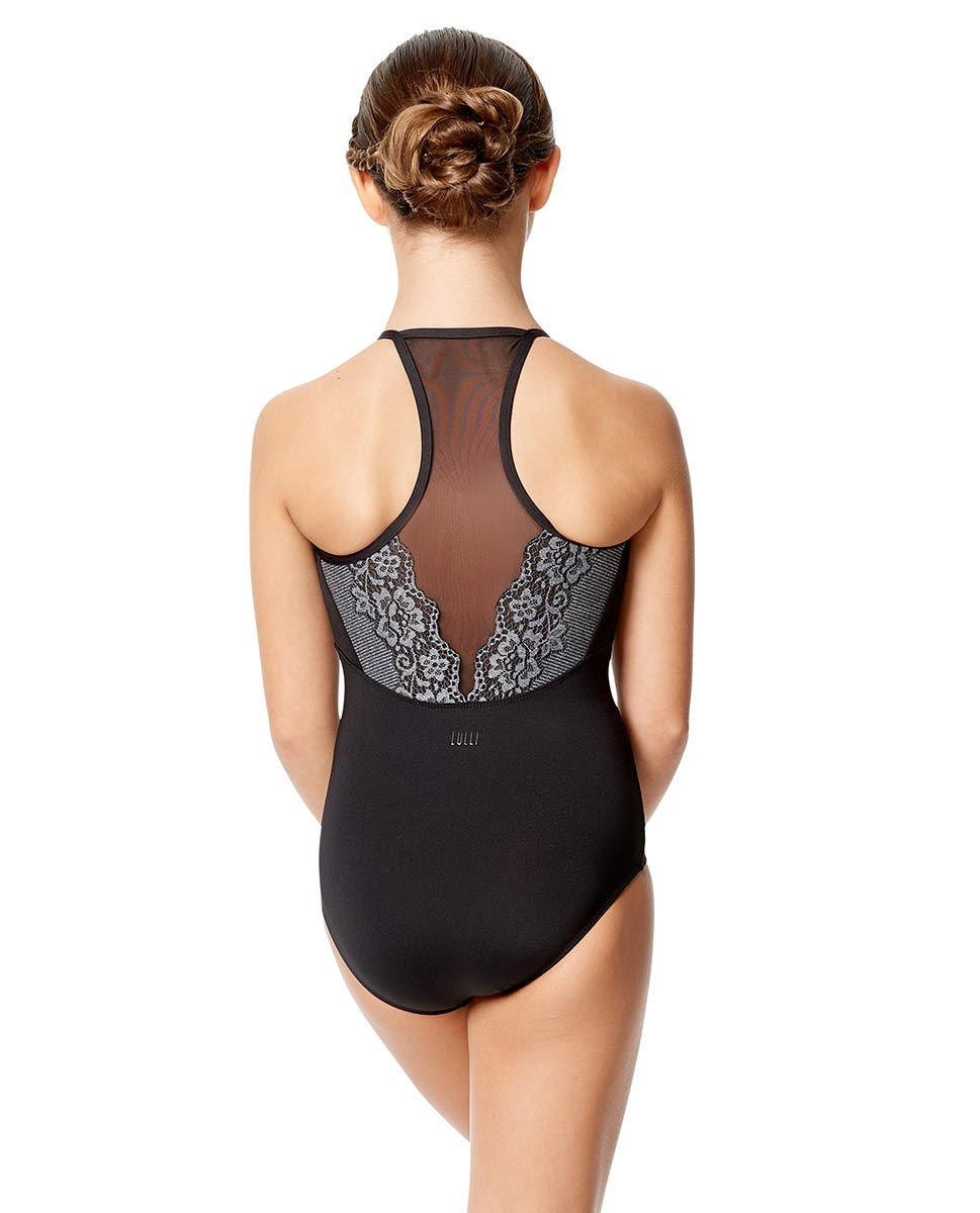 Girls Lace Camisole Dance Leotard Yoana