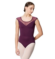 Women Microfiber and Mesh Tank Leotard Savannah