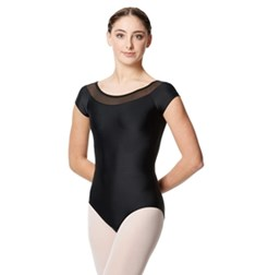 Women Mesh Short Sleeve Leotard Brooklin