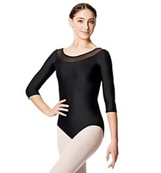 Women Mesh Long Sleeve Leotard Hazel