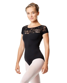 Girls Cap Sleeve Dance Leotard Angelina