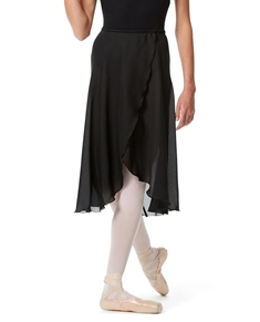 Knee Length Georgette Ballet Skirt Renee