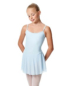 Kids Camisole Skirted Leotard Bianca