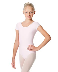 Girls Short Sleeve Leotard Inga