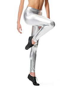 Metallic Ankle Leggings Nadine