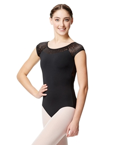 Girls Cap Sleeve Dance Leotard Ariana