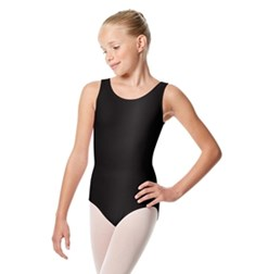 Girls Shiny Lycra Tank leotard Vittoria