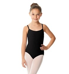 Girls Camisole Cotton Dance Leotard Lia
