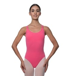 Double Strap Camisole Cotton Dance Leotard Yvette