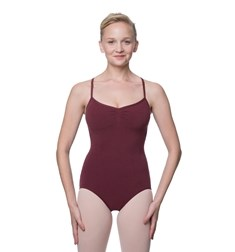 Camisole Crisscross Cotton Dance Leotard Nell