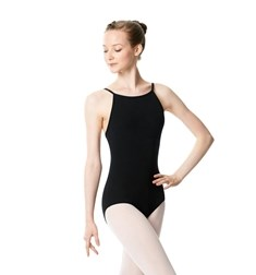 Brushed Cotton Camisole Dance Leotard Calla