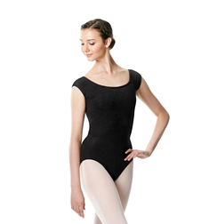 Brushed cotton Cap Sleeve Dance Leotard Dinah
